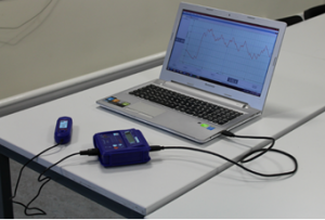 Sound sensor setup