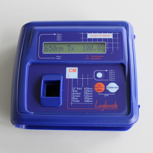 Colorimeter with case, lead and power adapter